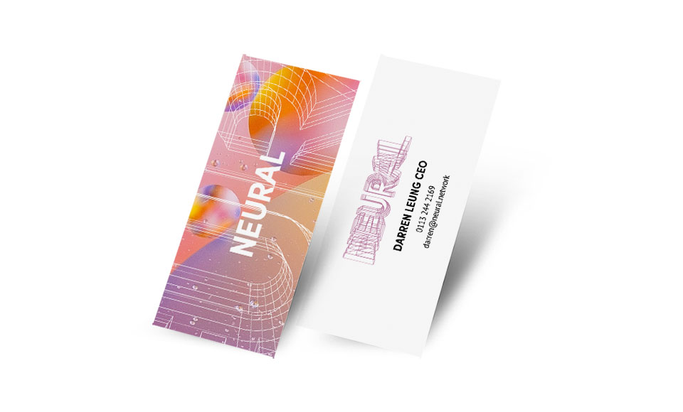 Neural business cards