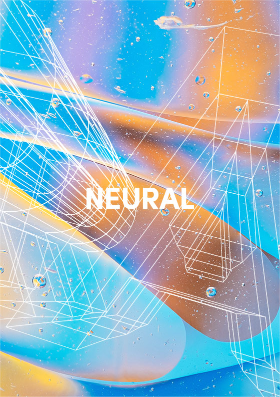 Neural panel graphic